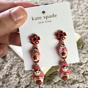 KATE SPADE Nesting Doll Earrings